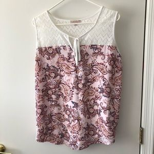 Claudia Richard tank size XL gently used
